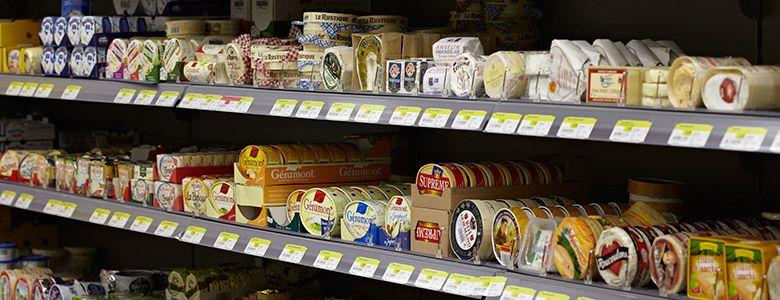 Milch/Molkereiprodukte/Käse